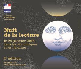 Affiche nuit de la lecture 2018