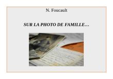 Sur la photo de famille...