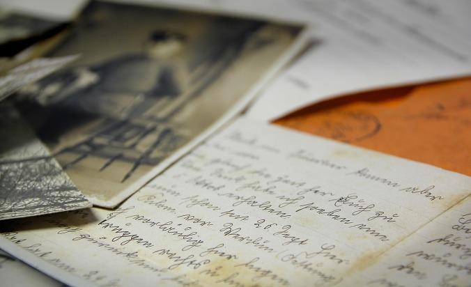 Ecriture et photo ancienne